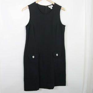 Ann Taylor LOFT Black Sleeveless Dress with Pocket